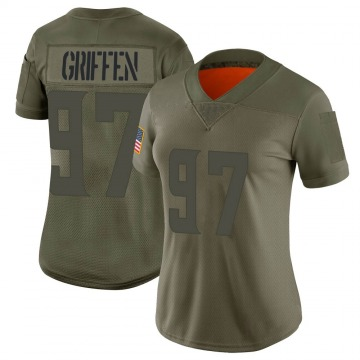 Women's Minnesota Vikings Everson Griffen Camo Limited 2019 Salute to Service Jersey By Nike