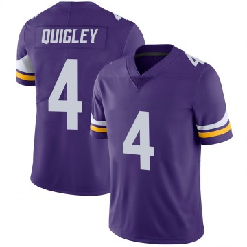 Youth Minnesota Vikings Ryan Quigley Purple Limited 100th Vapor Jersey By Nike