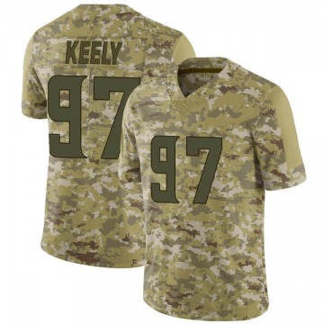Youth Minnesota Vikings Stacy Keely Camo Limited 2018 Salute to Service Jersey By Nike